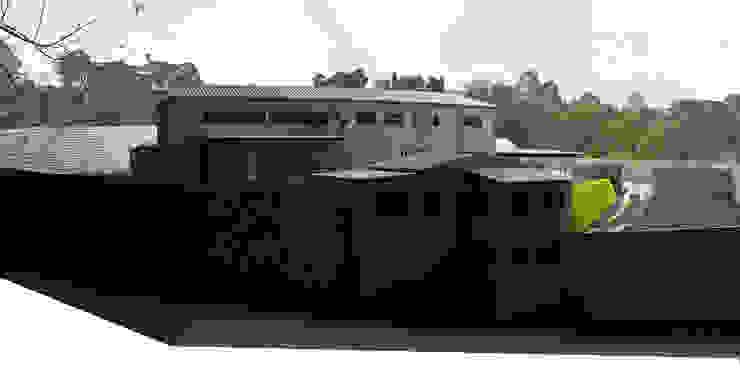 -Vivienda - Casa Arzobispal - Esquema remodelación - Manizales - Barrio La Francia de Santiago Zuluaga Arroyave Ecléctico