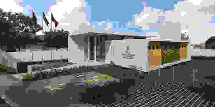 TRE-PB Catolé do Rocha Casas modernas por Martins Lucena Arquitetos Moderno