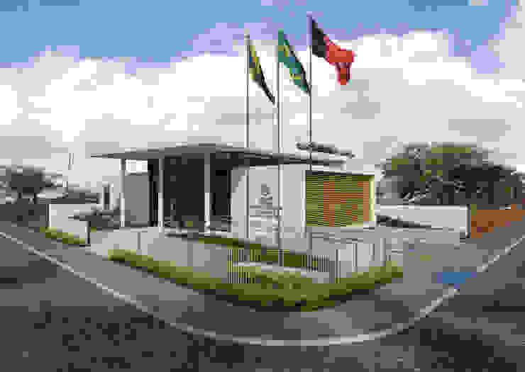 TRE-PB Boqueirão Casas modernas por Martins Lucena Arquitetos Moderno