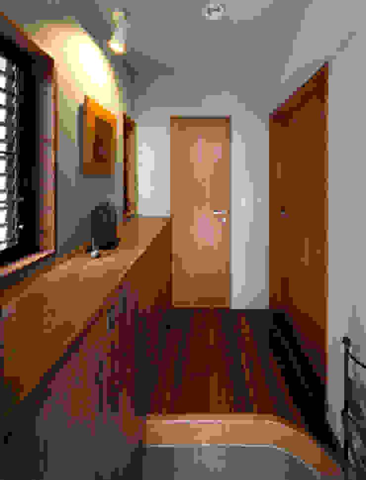 2+3の家 モダンデザインの テラス の 一級建築士事務所あとりえ モダン