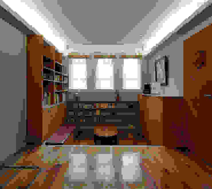 2+3の家 モダンデザインの 書斎 の 一級建築士事務所あとりえ モダン