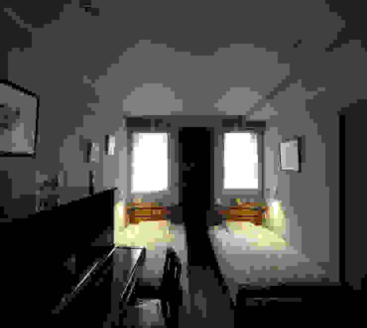 2+3の家 モダンスタイルの寝室 の 一級建築士事務所あとりえ モダン