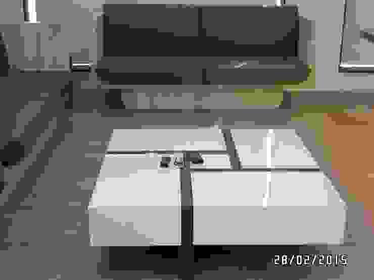 Office Interior: modern  by JNS Design,Modern Engineered Wood Transparent