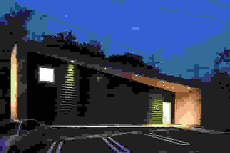 丘の上のレストラン(日本料理レストラン hitachino-ISHIZAKI) モダンな 家 の 一級建築士事務所あとりえ モダン
