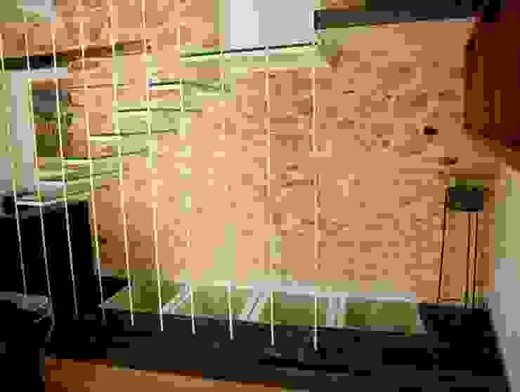 vivienda unifamiliar estilo rustico Paredes y suelos de estilo rústico de cota-zero, tenica y construcción integrada, s.l. Rústico