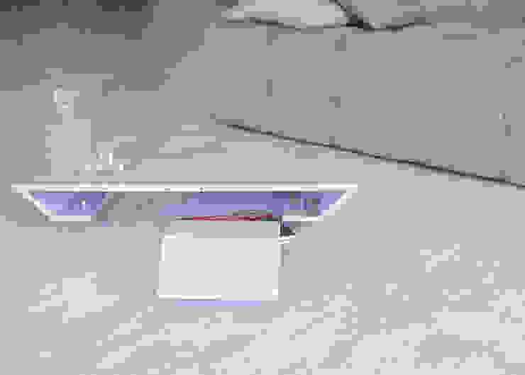 Tavolino F.L. di Diff Moderno Ferro / Acciaio