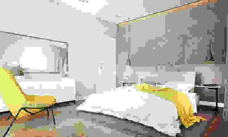 Phòng ngủ phong cách hiện đại bởi Derya Bilgen Hiện đại