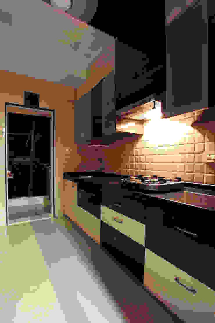 Harish Bhai Modern kitchen by PSQUAREDESIGNS Modern