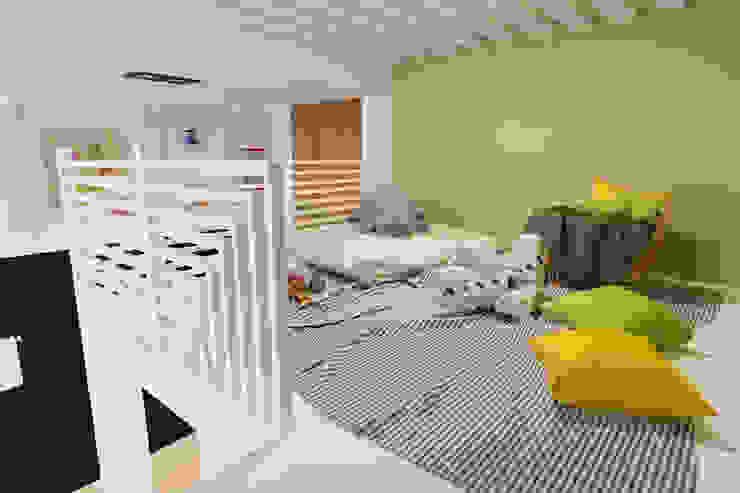 Дизайн-проект трехкомнатной квартиры для молодой семейной пары. Детская комната в стиле модерн от Катя Волкова Модерн