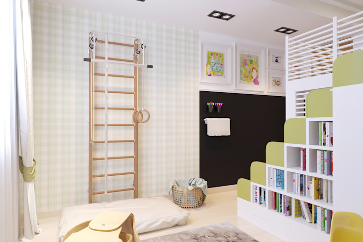 Modern nursery/kids room by Катя Волкова Modern