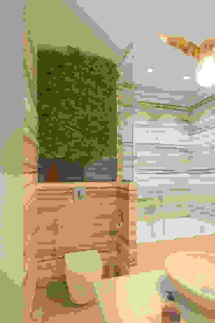 Дизайн-проект трехкомнатной квартиры для молодой семейной пары. Ванная комната в стиле модерн от Катя Волкова Модерн