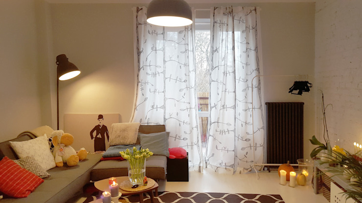 Salas de estar  por Project Art Joanna Grudzińska-Lipowska, Escandinavo