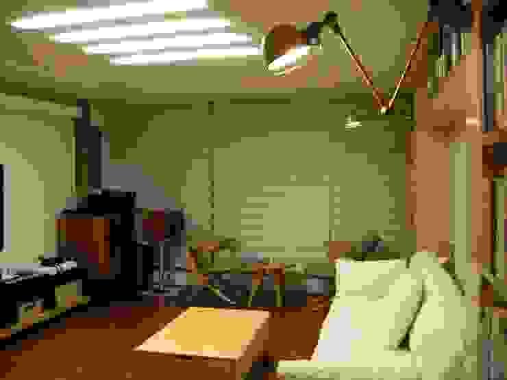 목동5단지 45PY: 디자인 컴퍼니 에스의  거실,모던