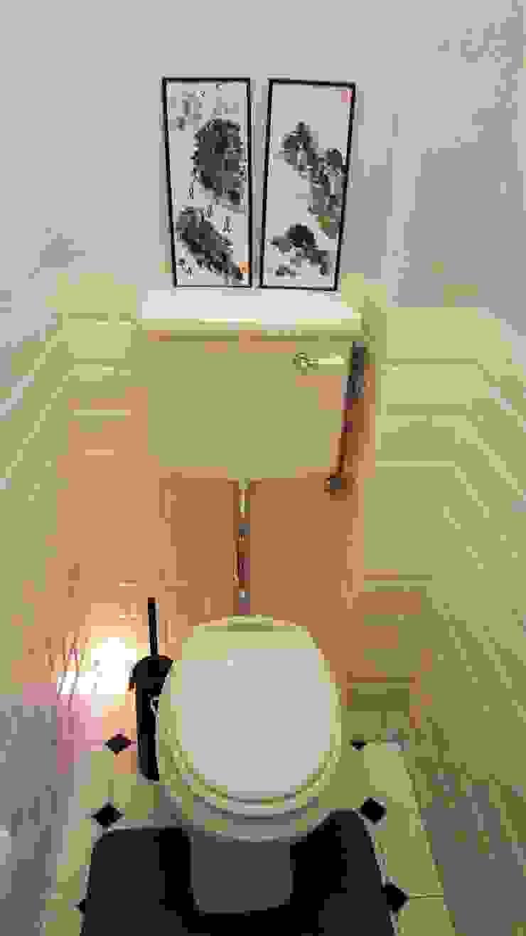 Klimatyczne mieszkanie w starej kamienicy Klasyczna łazienka od Project Art Joanna Grudzińska-Lipowska Klasyczny