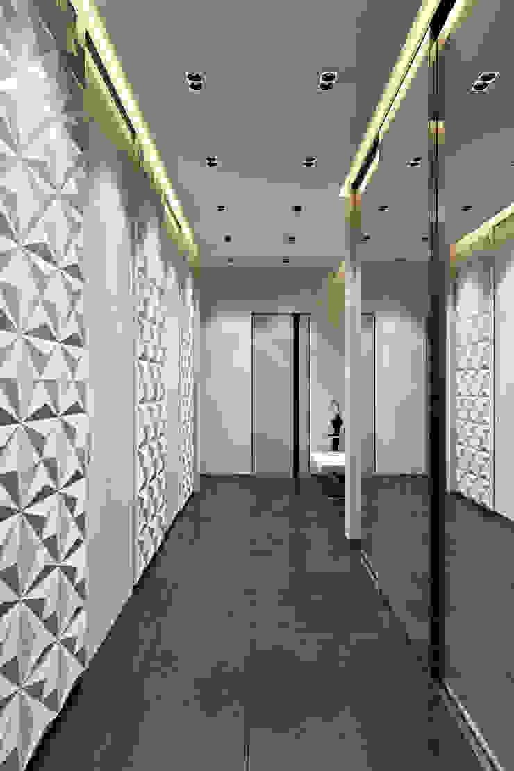 Коридор Коридор, прихожая и лестница в стиле минимализм от СВЕТЛАНА АГАПОВА ДИЗАЙН ИНТЕРЬЕРА Минимализм