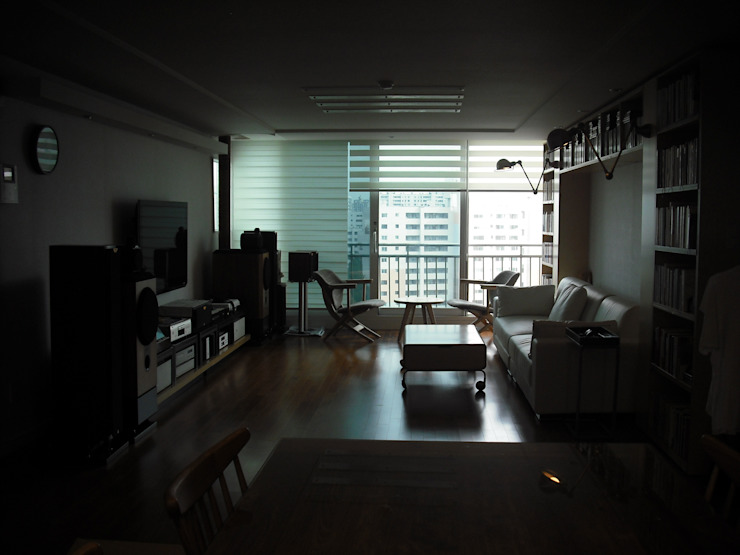 목동5단지 45PY 모던스타일 거실 by 디자인 컴퍼니 에스 모던