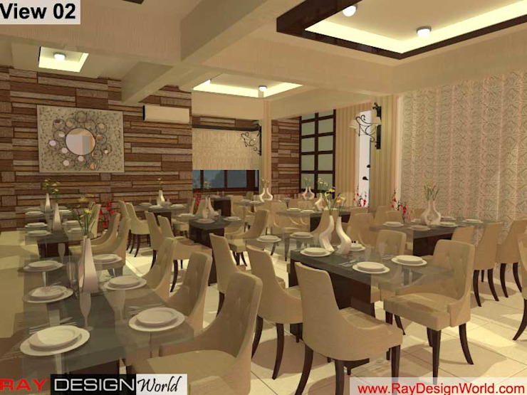 Indian Restaurant: asian  by Ray Design World,Asian