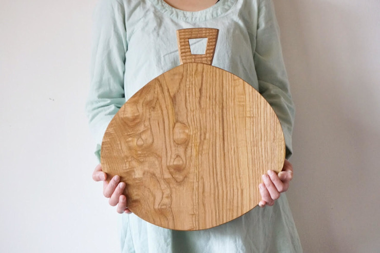 暮らしの木のモノ: monomが手掛けた折衷的なです。,オリジナル 木 木目調