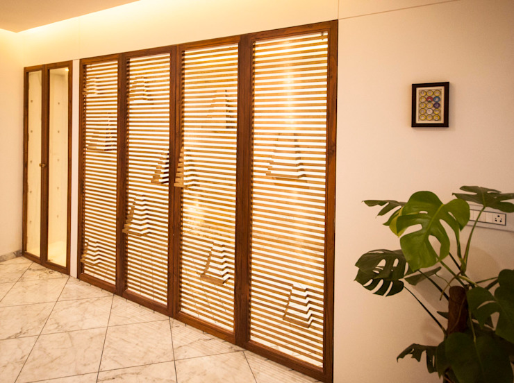 Anmi Residence Modern dining room by andblack design studio Modern