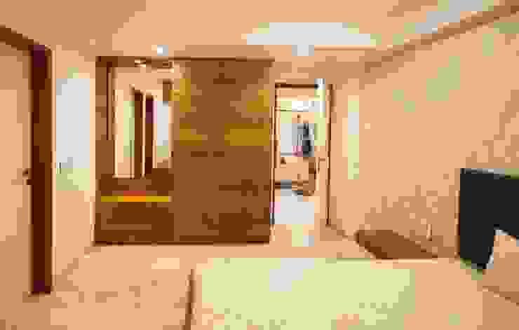 Anmi Residence Modern style bedroom by andblack design studio Modern