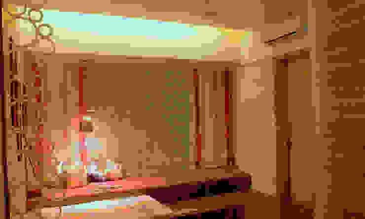 Seaview Apartment at Palm Beach Residency at Navi Mumbai Modern style bedroom by Shweta Deshmukh & Associates Modern