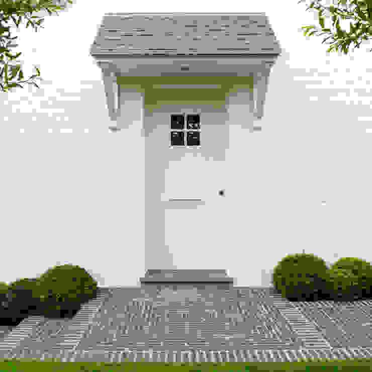 Pure PPH-350 outside doorpull in White bronze (WB) Landelijke huizen van Dauby Landelijk