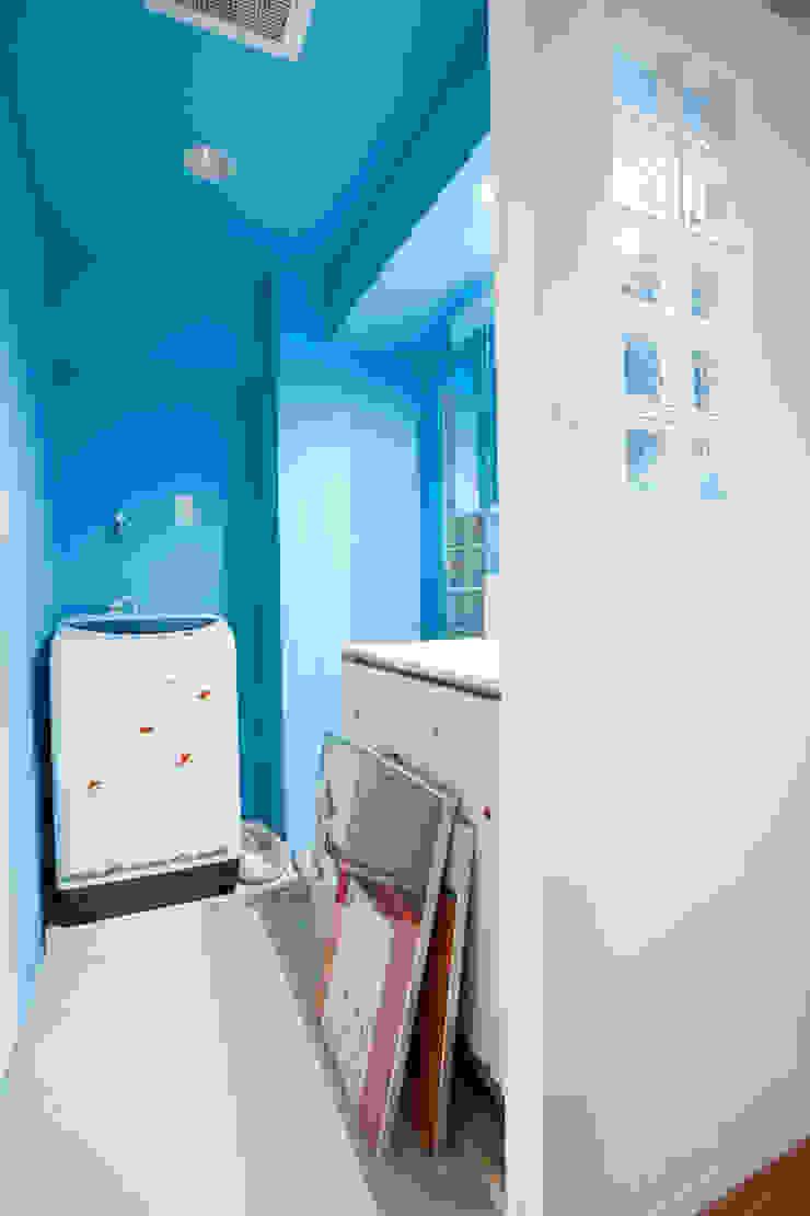 「ビンテージ+ぬくもり」生まれ変わった広く光あふれる空間 インダストリアルスタイルの お風呂 の 株式会社インテックス インダストリアル