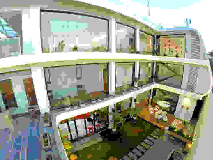 INDRA HIRA Modern houses by INNERSPACE Modern