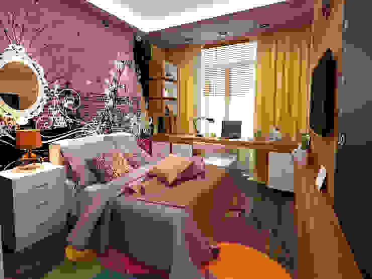 Детская комната Детская комната в стиле лофт от СВЕТЛАНА АГАПОВА ДИЗАЙН ИНТЕРЬЕРА Лофт Изделия из древесины Прозрачный