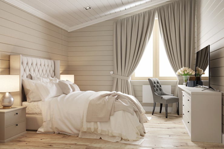 Classic style bedroom by homify Classic Wood Wood effect