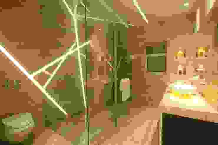 INDRA HIRA Modern bathroom by INNERSPACE Modern