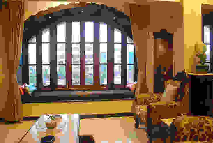Rest n Beige Modern living room by Sneha Samtani I Interior Design. Modern