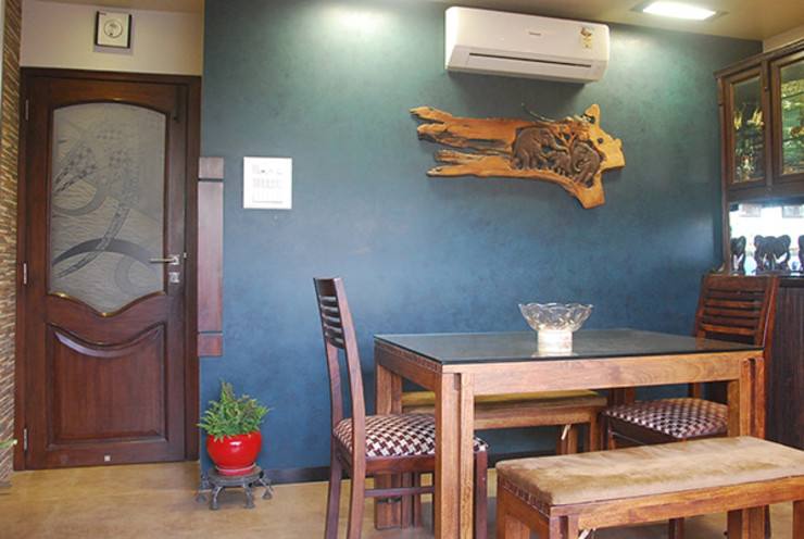 Rest n Beige Modern dining room by Sneha Samtani I Interior Design. Modern