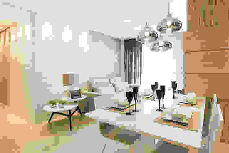 Modern Living Room by TRÍADE ARQUITETURA Modern Wood Wood effect