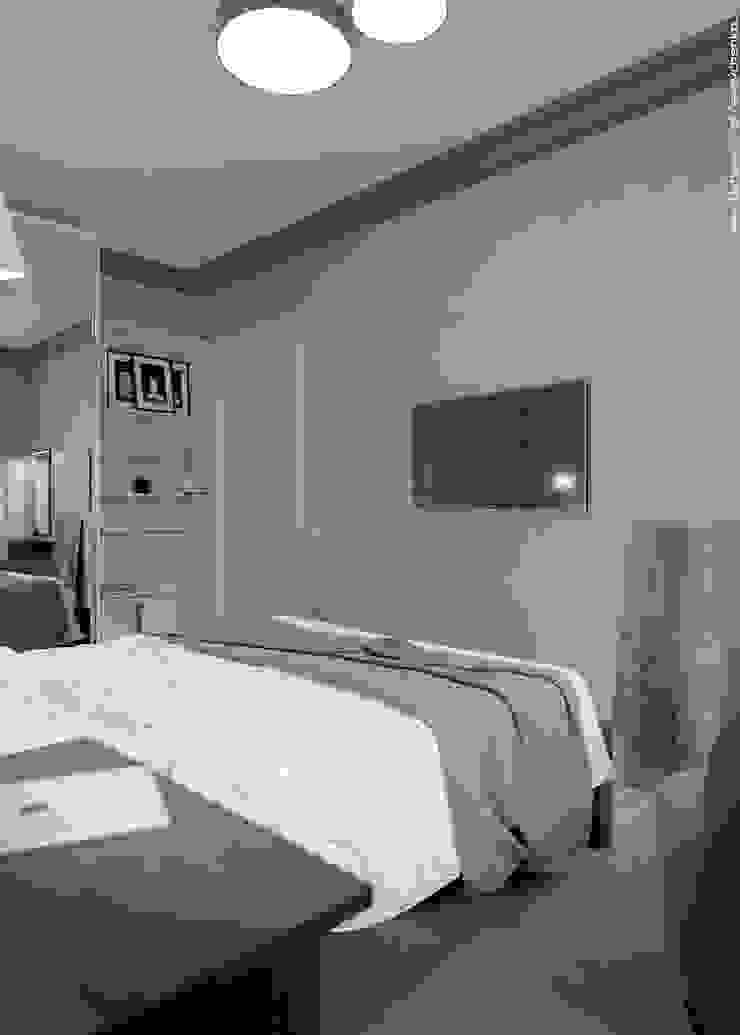 Bedroom Спальня в стиле модерн от Shevchenko_Nikolay Модерн