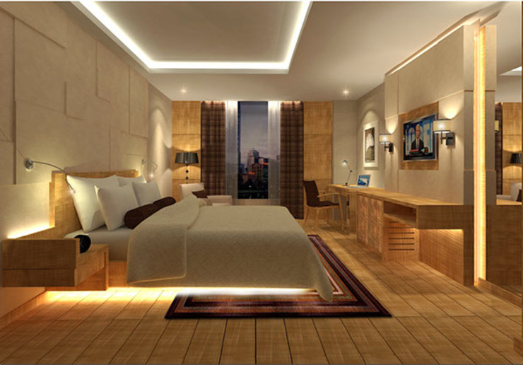 Grand Design Modern style bedroom by Sneha Samtani I Interior Design. Modern