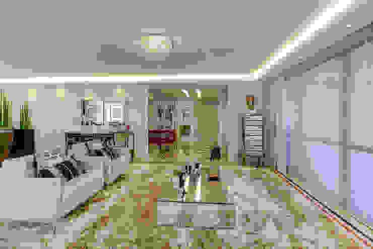 Residência Juvevê Salas de estar clássicas por VL Arquitetura e Interiores Clássico