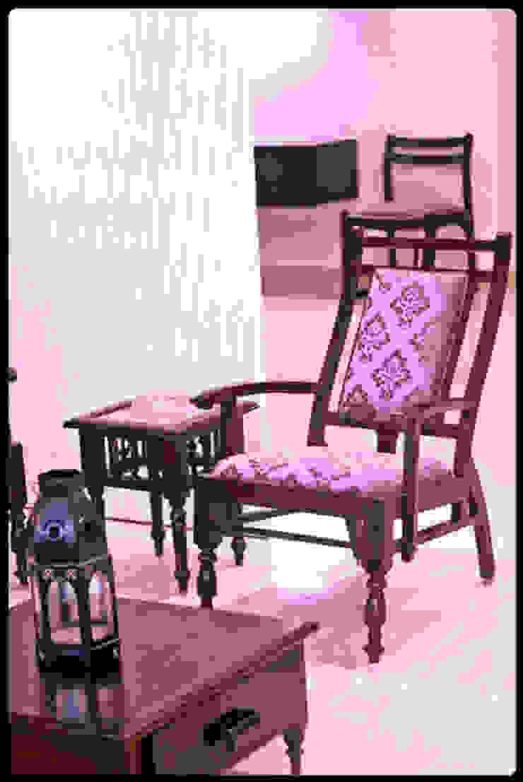 Banjara Hills House Modern living room by Saloni Narayankar Interiors Modern
