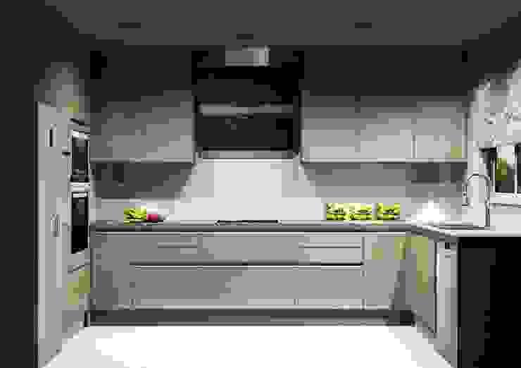 Moderne Küchen von Amplitude - Mobiliário lda Modern MDF