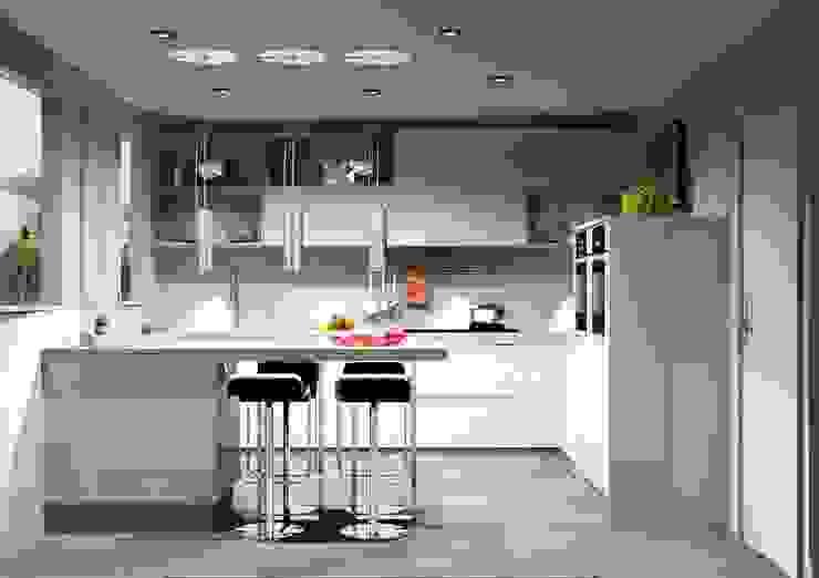 Cozinhas | Roupeiros | Moveis de banho Cozinhas modernas por Amplitude - Mobiliário lda Moderno MDF