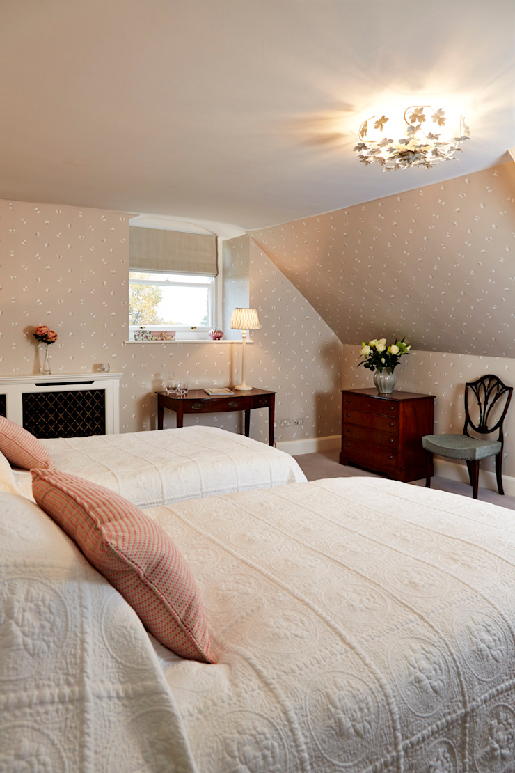 Guest Bedroom One Etons of Bath Classic style bedroom Grey