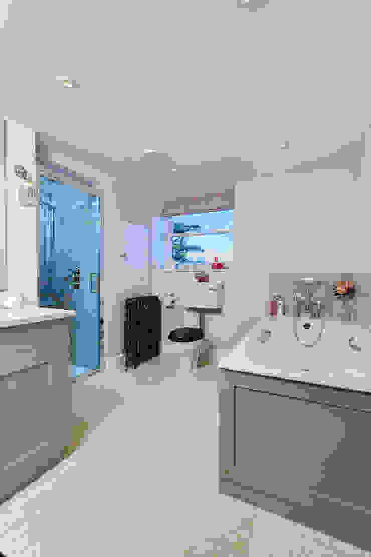 Guest Bathroom One Etons of Bath Classic style bathroom Pink