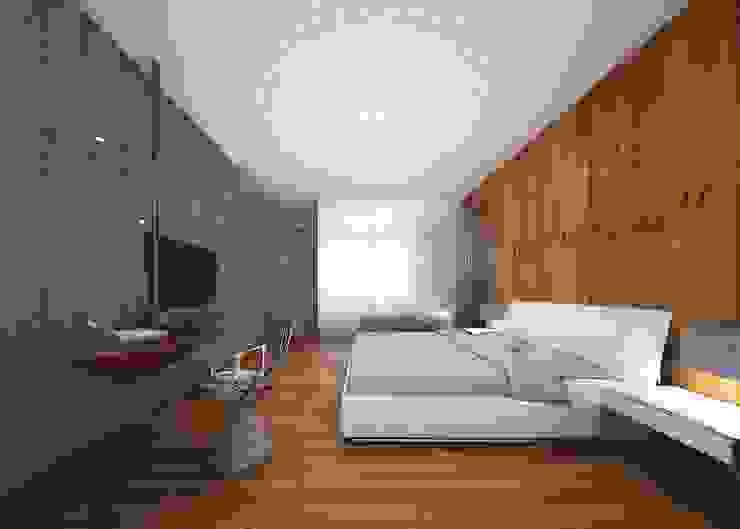 3D render Modern style bedroom by jyotsnarawool Modern