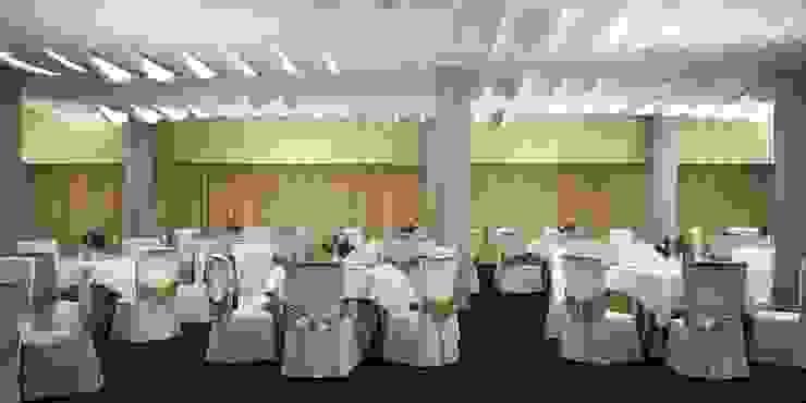 3D render Modern balcony, veranda & terrace by jyotsnarawool Modern