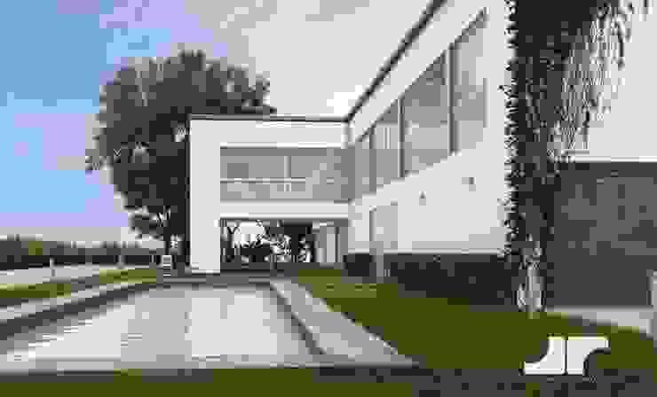 3D render Modern conservatory by jyotsnarawool Modern