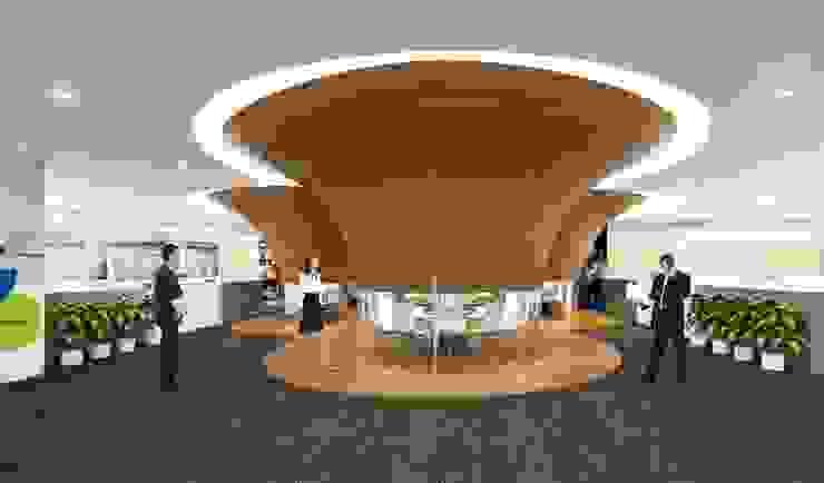 3D render Modern study/office by jyotsnarawool Modern