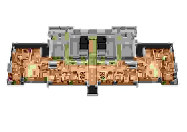 3D render Modern houses by jyotsnarawool Modern