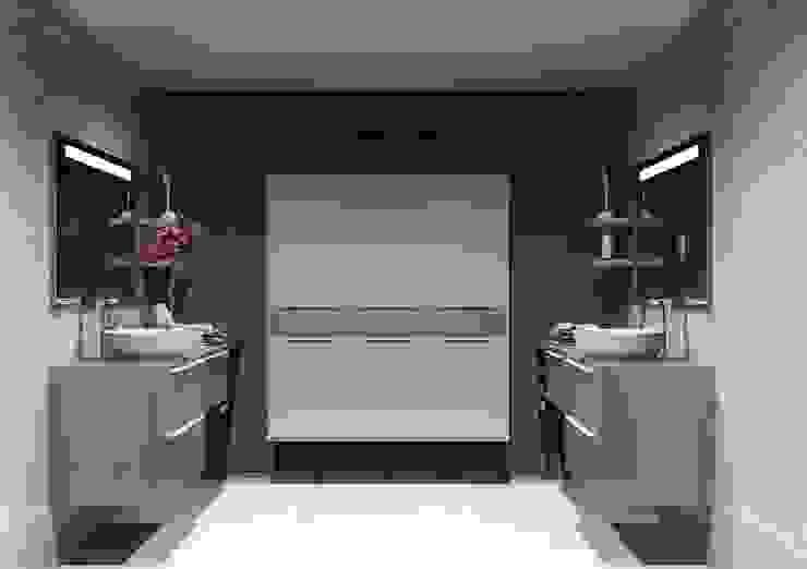 Ванная комната в стиле модерн от Amplitude - Mobiliário lda Модерн