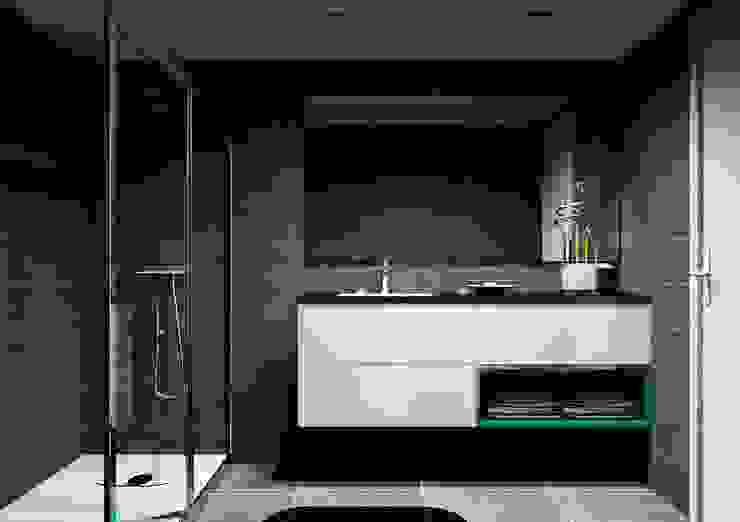 Cozinhas | Roupeiros | Moveis de banho Casas de banho modernas por Amplitude - Mobiliário lda Moderno