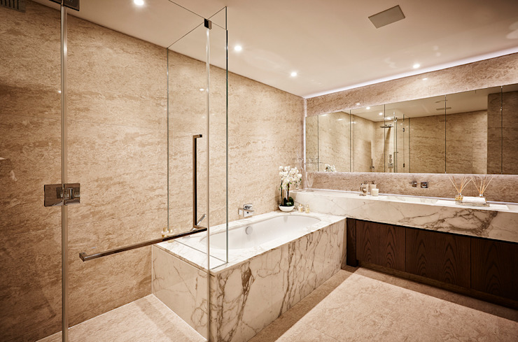 5&6 Connaught Place, Hyde Park, London. Flairlight Designs Ltd Classic style bathroom